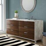 Lipscomb 6 Drawer Double Dresser by Brayden Studio®