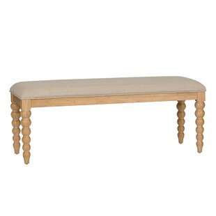 Saguenay Upholstered Bench by Lark Manor