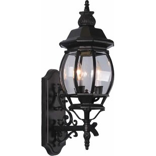 3-Light Outdoor Sconce by Volume Lighting