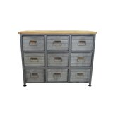 Riendeau 9 Drawer Accent Chest by Williston Forge