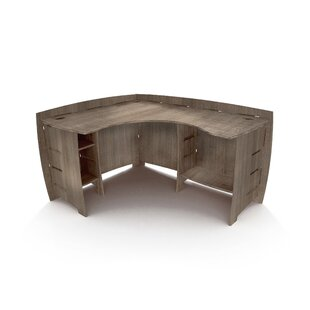 Driftwood Reversible L-Shape Corner Desk by Legare Furniture Find