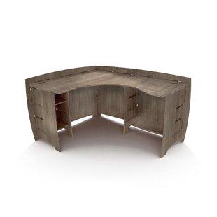 Driftwood Reversible L-Shape Corner Desk