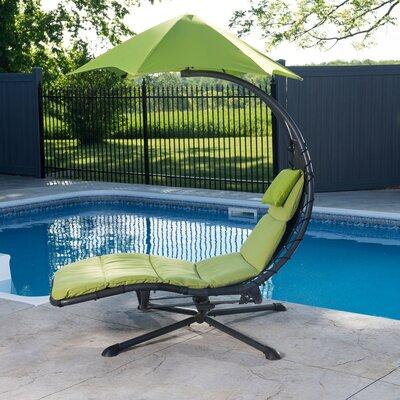 Ebern Designs Maglione 360 degrees Chair Hammock  Color: Green Apple