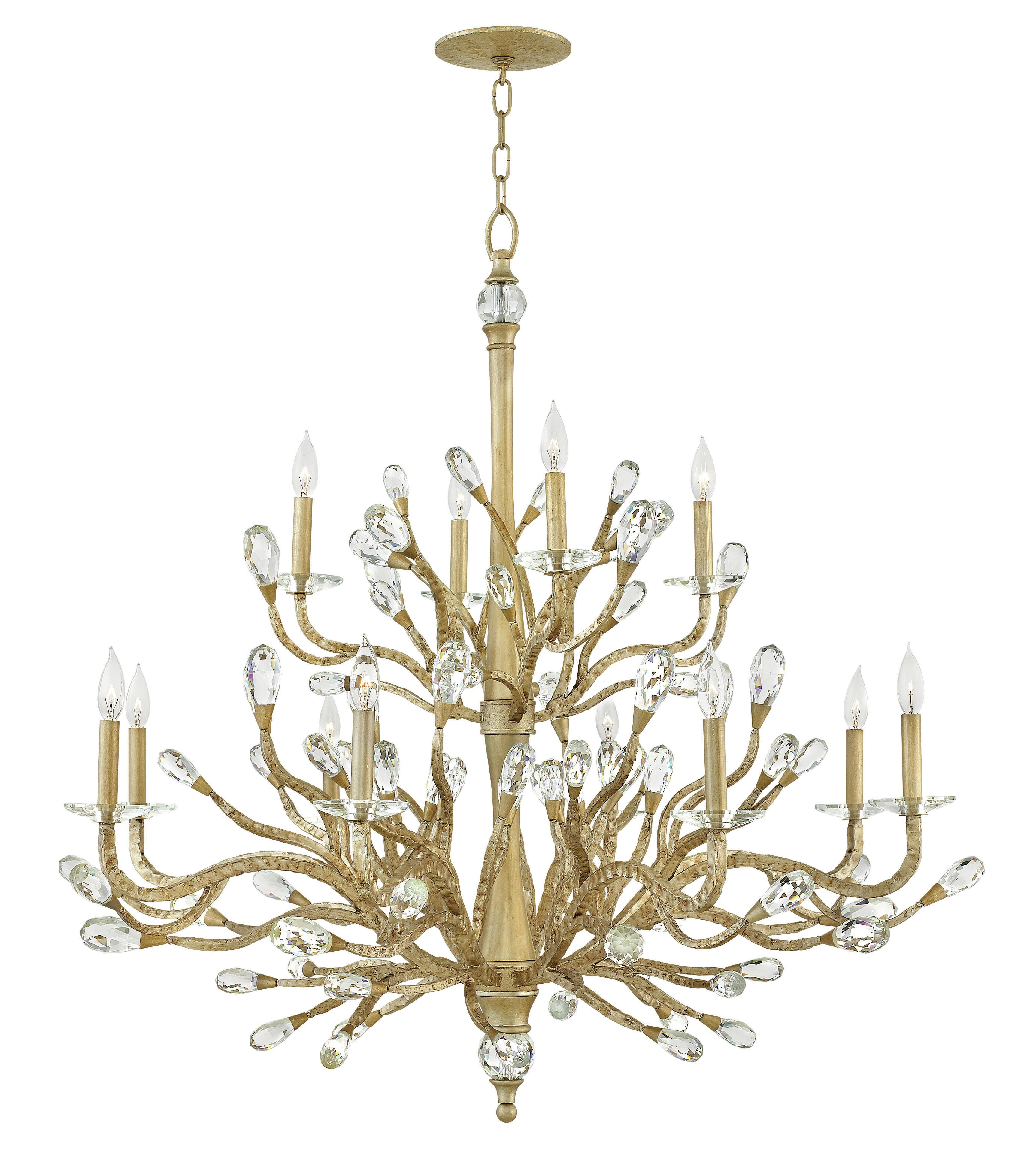 Rosdorf Park Crisler 12 Light Candle Style Classic Traditional Chandelier Wayfair