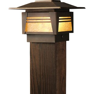 Kichler Zen Garden 1-Light Fence Post Cap