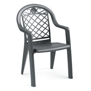 Savannah Stacking Patio Dining Chair (Set of 4)