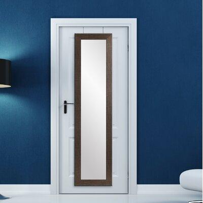 BrandtWorksLLC Modern & Contemporary Accent Mirror Finish: Black