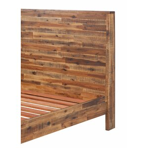 Wooden Panel Bed by Foundry Select