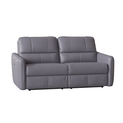 Grey Reclining Leather Sofas You Ll Love In 2019 Wayfair