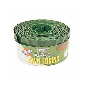 4 in. x 480 in. Easy-Edge Green Lawn Edgi..