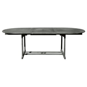 Densmore Outdoor Hand Scraped Wood Dining Table