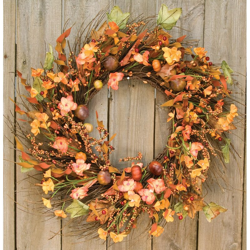 Pinto Garden Twig Wreath