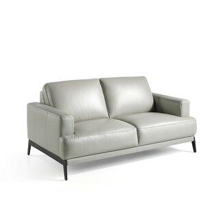 Gelinas Leather 2 Loveseat By Ebern Designs