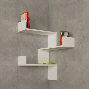 Luksa Corner Shelf