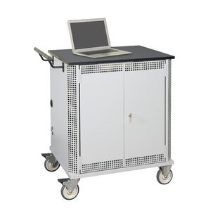 Economy 32-Compartment Laptop Charging Cart by Datum Storage
