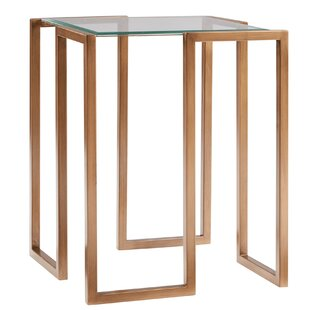 Everly Quinn Shera End Table