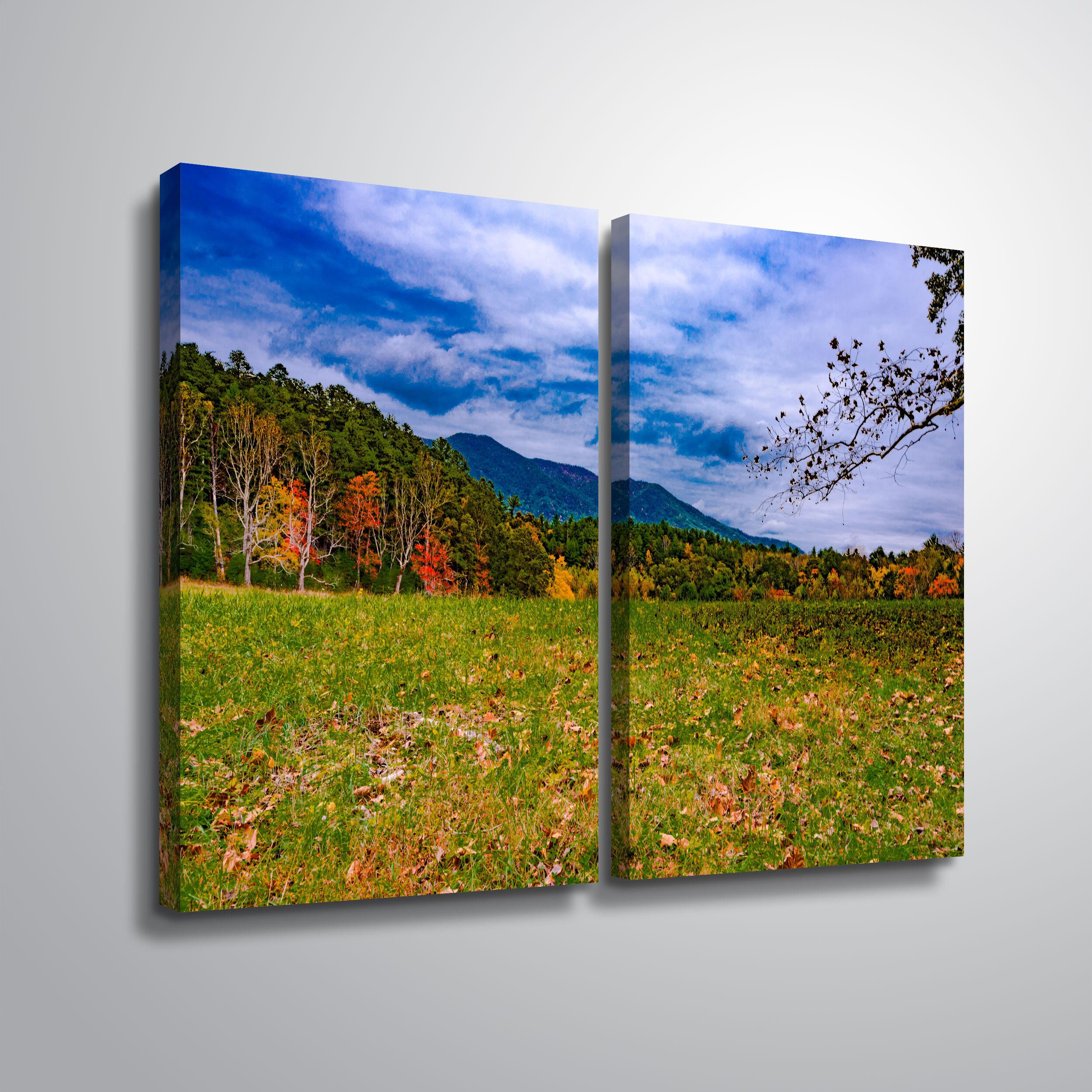 2 Piece Meadow Canvas Art You Ll Love In 2021 Wayfair
