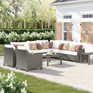 Northridge 9 Piece Sectional Set with Cushions