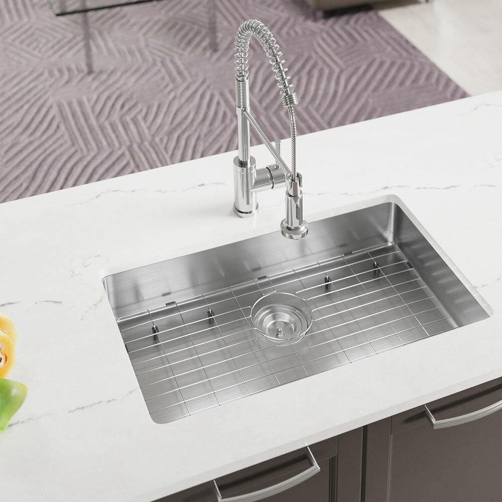 Mrdirect Stainless Steel 29 X 18 Undermount Kitchen Sink Wayfair