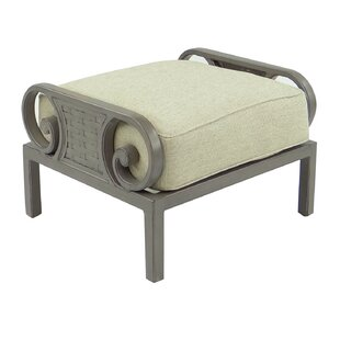Leona Riviera Ottoman with Cushion