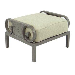 Leona Riviera Ottoman with Cushion
