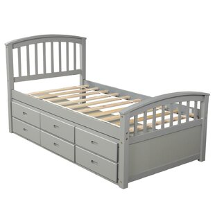 Northington Twin Platform Bed with 6 Drawers by Harriet Bee