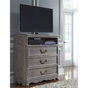 Canora Grey Harle 3 Drawer Media Chest Image
