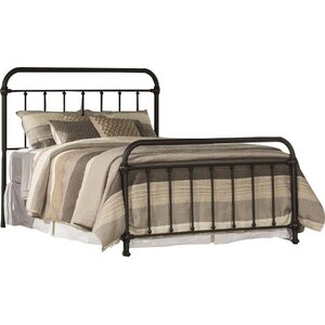 Harlow Metal Panel Bed