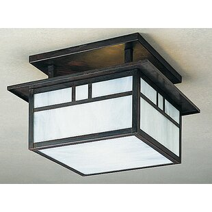 Arroyo Craftsman Huntington 2-Light Semi Flush Mount