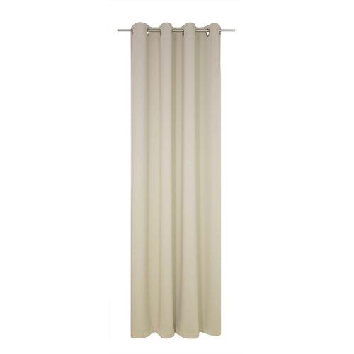 Vorhang Dim mit Ösen (1 Stück)  verdunkelnd | Heimtextilien > Gardinen und Vorhänge | Beige | Wirth