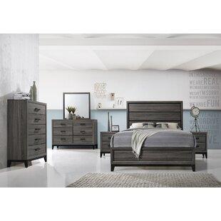 Wallis 6 Drawer Double Dresser with Mirror by Ebern Designs