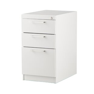 Pedestal 3-Drawer Vertical Filing Cabinet