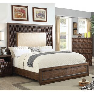 Pinnix Upholstered Panel Bed