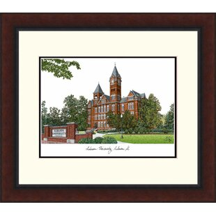 NCAA Auburn Tigers Legacy Alumnus Lithograph Picture Frame By Campus Images