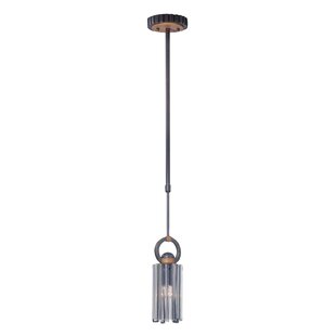 Foster 1-Light Cylinder Pendant by Kalco