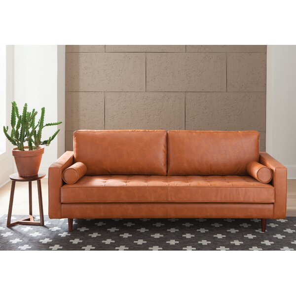 Amalfi Leather Sofa | Wayfair