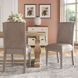 Saguenay Upholstered Dining Chair (Set of 2) Lark Manor