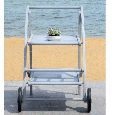 Drachten Tea Bar Serving Cart by Laurel Foundry Modern Farmhouse Today Only Sale
