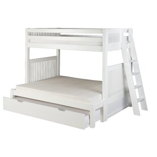 Oakwood Twin Over Full Bunk Bed With Trundle by Harriet Bee No Copoun