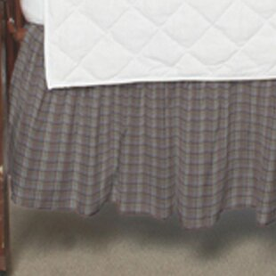 Savings Plaid Fabric Crib Dust Ruffle ByPatch Magic