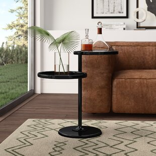 Cusson End Table by Mercury Row