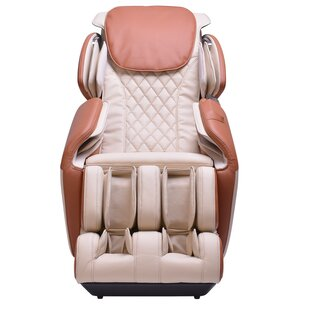 Latitude Run Steel Frame Chair with Footrest Massage Chair