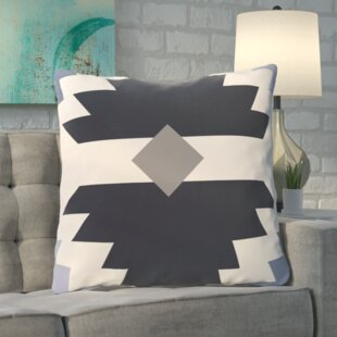 Roberson Geometric Print Floor Pillow