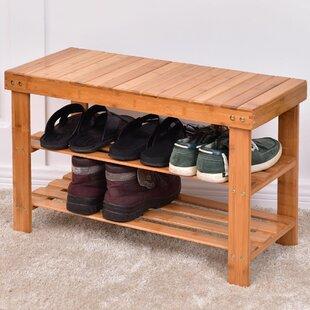6 Pair Shoe Rack Rebrilliant