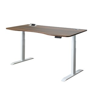 Herron Adjustable Standing Desk by Symple Stuff Modern