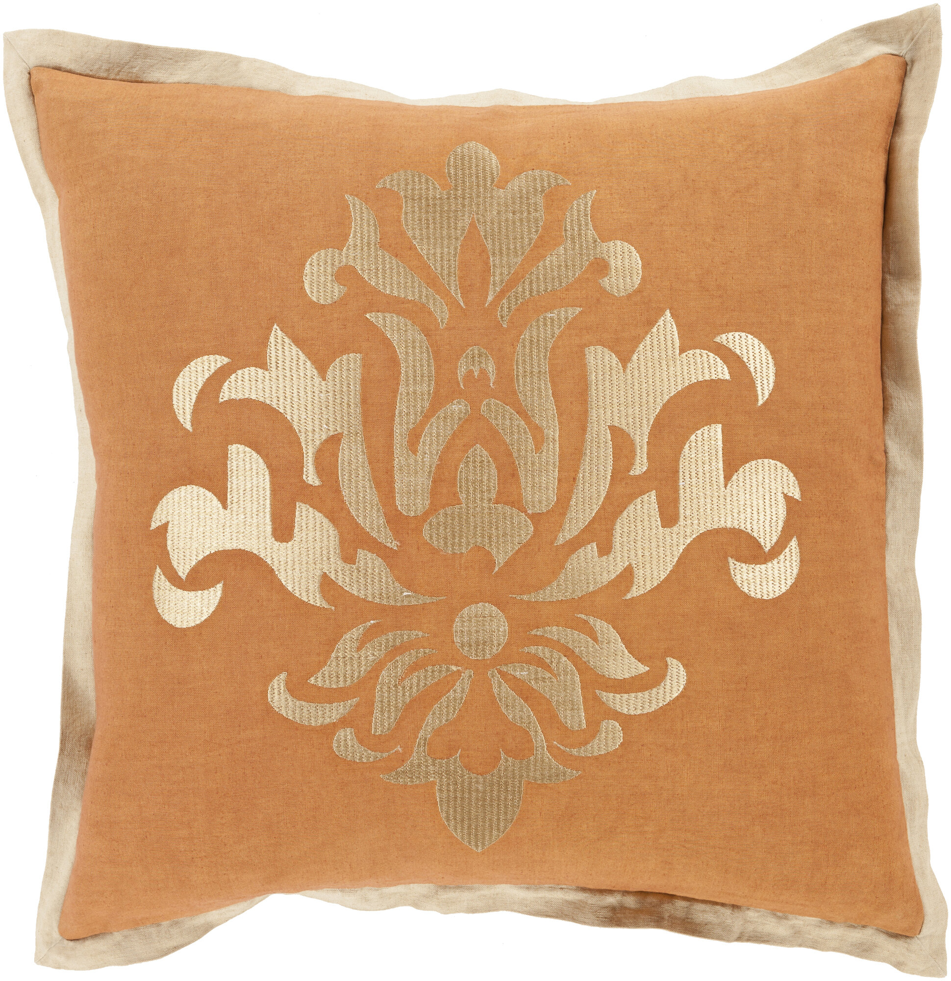 House Of Hampton Wabbaseka Linen Pillow Cover Wayfair