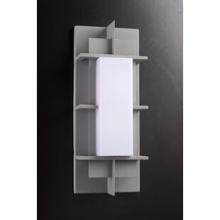 Searching for Tupper 1-Light Outdoor Flush Mount By Ebern Designs