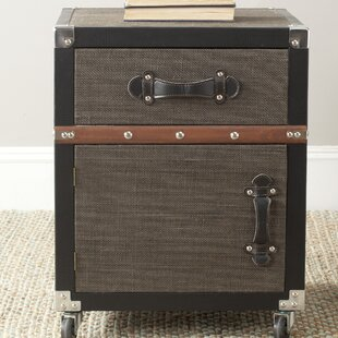 Quituisaca Rolling 1 Drawer Combi Chest By Bloomsbury Market