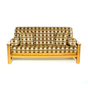 Hayley Box Cushion Futon Slipcover by Lifest..