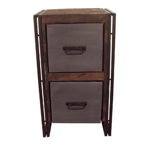 Marguerite 2 Drawer Chest by 17 Stories
